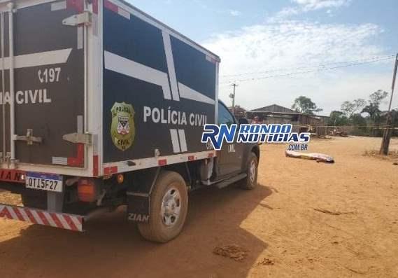 Homem é executado a tiros na região rural de Candeias do Jamari