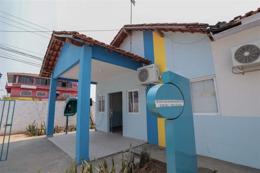 Município realiza a entrega de obras de revitalização da USF Ernandes Índio na capital