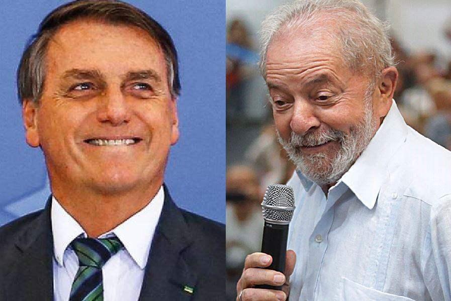 Pesquisa eleitoral mostra empate técnico entre Lula e Jair Bolsonaro em 2022
