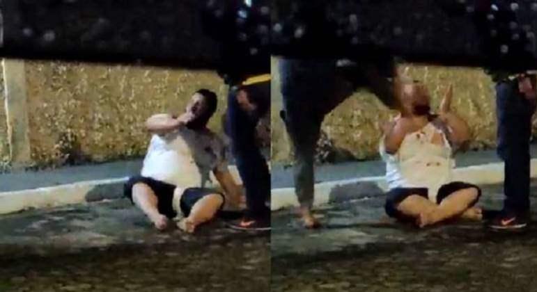 Homem é agredido e preso após marcar encontro com menina de 12 anos, polícia investiga o caso
