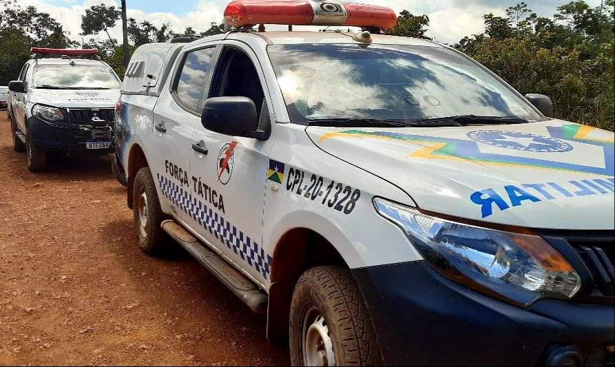 Polícia prende três suspeitos ocupando carro furtado em Porto Velho