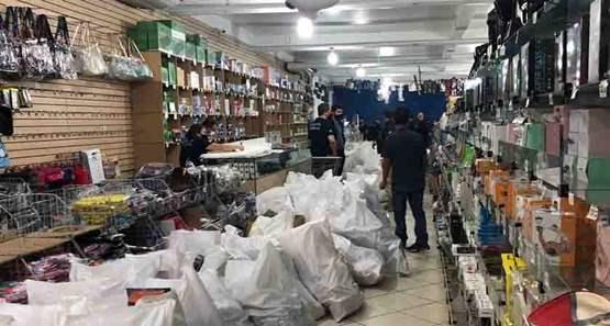 Operação que investiga contrabando apreende quase nove toneladas de aparelhos irregulares