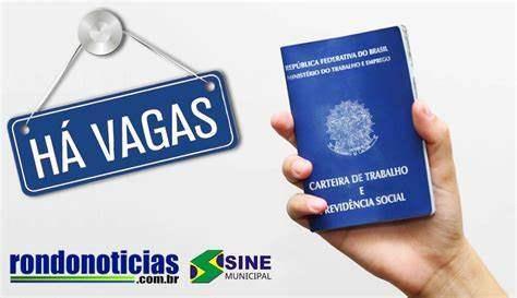 Confira vagas de emprego nesta quinta-feira (29) no Sine de Porto Velho