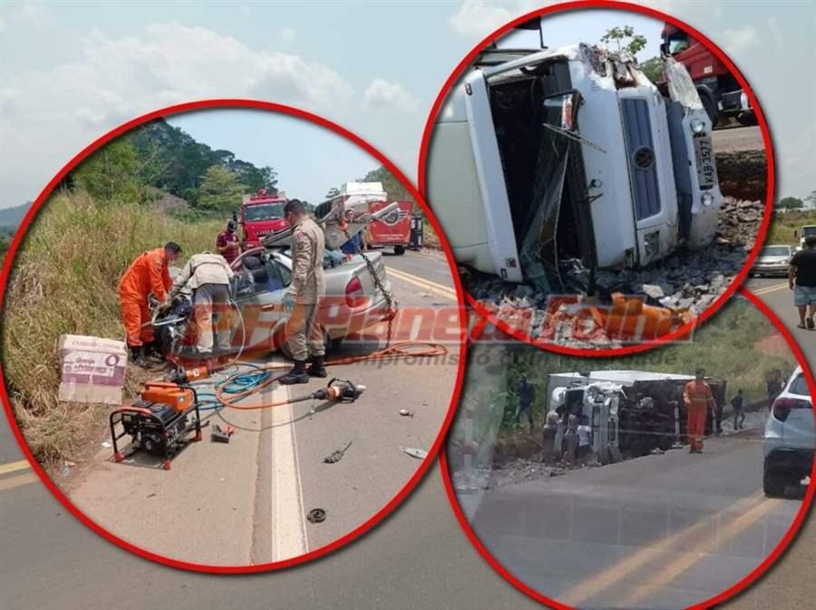 Trágico acidente na BR 364 entre Ji-Paraná e Ouro Preto mata motorista