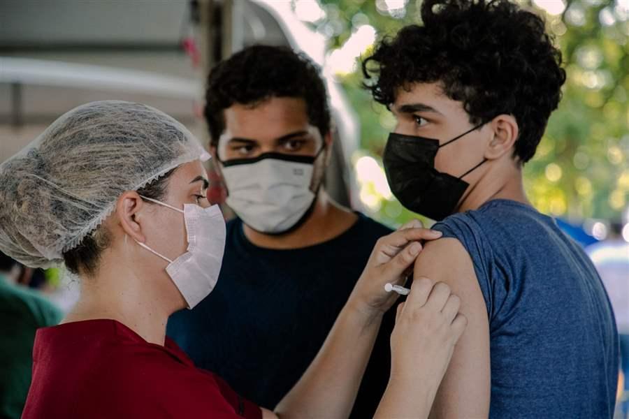 Com mais de 14 mil doses aplicadas, imunização da covid-19 avança na capital