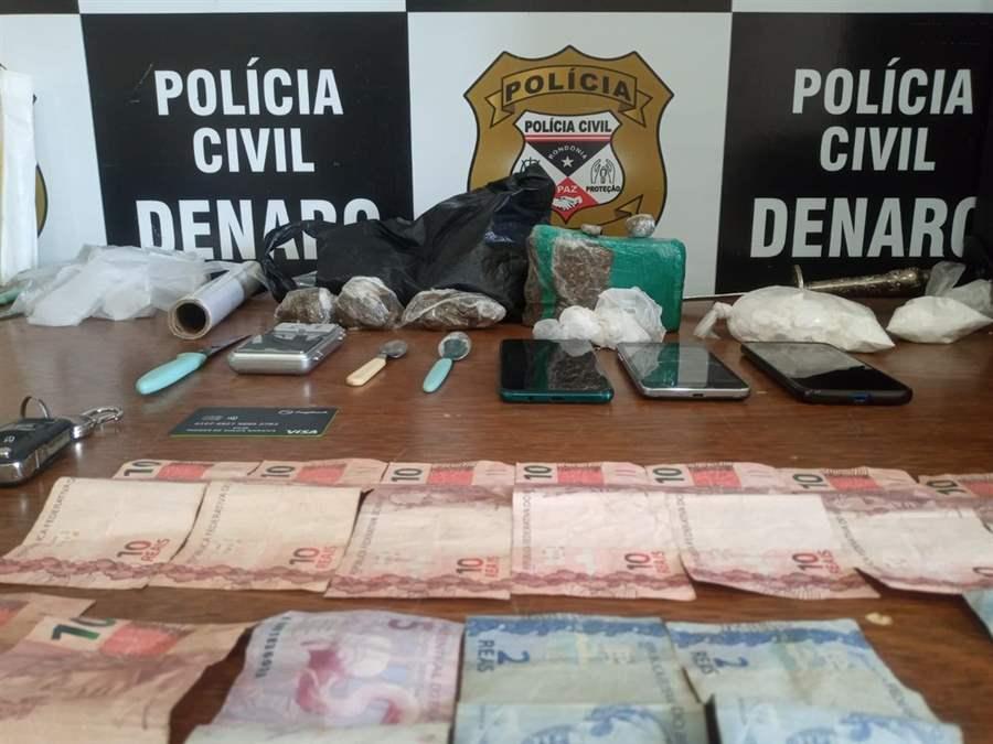 Denarc prende dois homens e apreende drogas no 'Beco da Maconha'